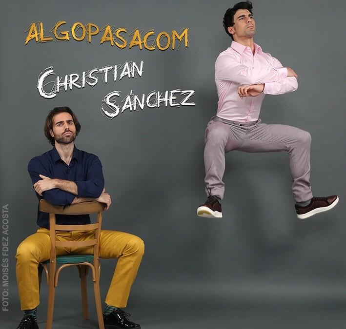"""Christian Sánchez: """"Me gusta que los personajes tengan algo mío""""."""